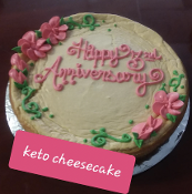 Whole Keto Cheesecake